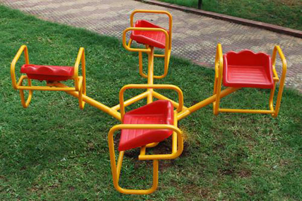 kids playground equipment in Wilson garden